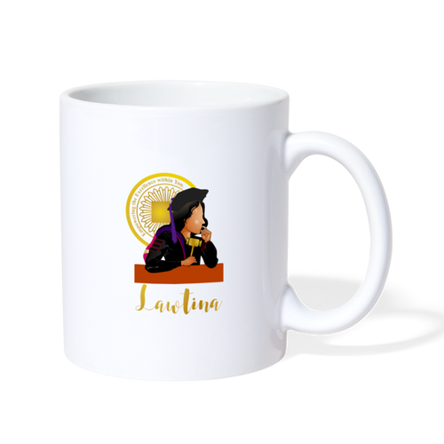 Latina Law Graduate, Coffee/Tea Mug - white