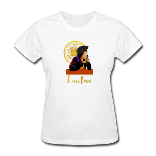 Latina Law Graduate, Women's T-Shirt - white