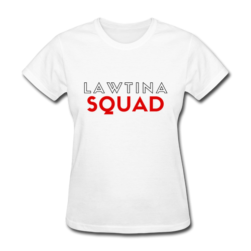 Lawtina Squad, Women's T-Shirt - white