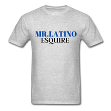 Load image into Gallery viewer, Mr. Latino Esquire, Men's T-Shirt - heather gray