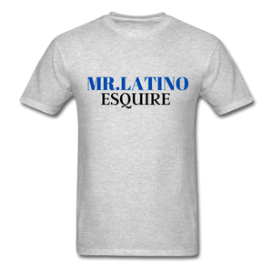 Mr. Latino Esquire, Men's T-Shirt - heather gray