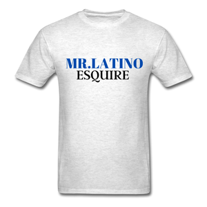Mr. Latino Esquire, Men's T-Shirt - light heather gray