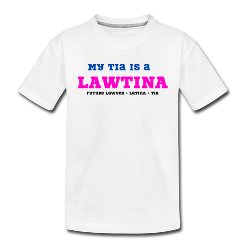 Future Lawtina Tia, Toddler Premium T-Shirt - white