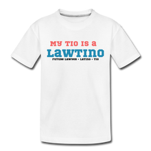 Load image into Gallery viewer, Future Lawtino Tio, Toddler Premium T-Shirt - white