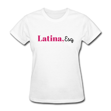 Load image into Gallery viewer, Latina, Esq. Women's T-Shirt - white