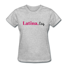 Load image into Gallery viewer, Latina, Esq. Women's T-Shirt - heather gray