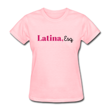 Load image into Gallery viewer, Latina, Esq. Women's T-Shirt - pink
