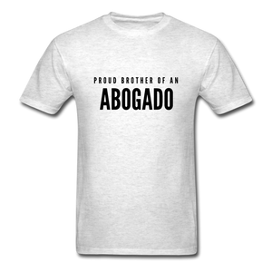 Proud Brother of an Abogado, Unisex Classic T-Shirt - light heather gray