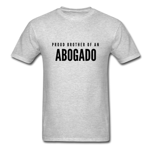 Proud Brother of an Abogado, Unisex Classic T-Shirt - heather gray