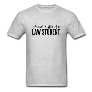Proud Sister of a Law Student Unisex Classic T-Shirt - heather gray