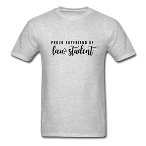 Proud Boyfriend of a Law Student, Unisex Classic T-Shirt - heather gray