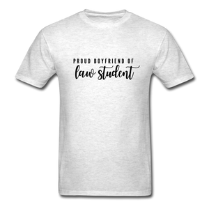 Proud Boyfriend of a Law Student, Unisex Classic T-Shirt - light heather gray