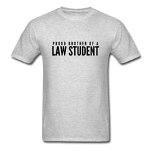 Load image into Gallery viewer, Proud Brother of a Law Student, Unisex Classic T-Shirt - heather gray