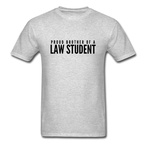 Proud Brother of a Law Student, Unisex Classic T-Shirt - heather gray