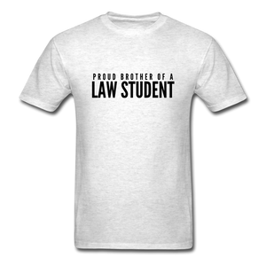Proud Brother of a Law Student, Unisex Classic T-Shirt - light heather gray