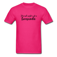 Load image into Gallery viewer, Proud Sister of a Licenciada, Unisex Classic T-Shirt - fuchsia