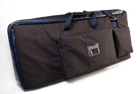 Tough, stretch, fits most keyboards, shoulder strap, carry handles, lightweight, Padded, Large pockets, water resistant
