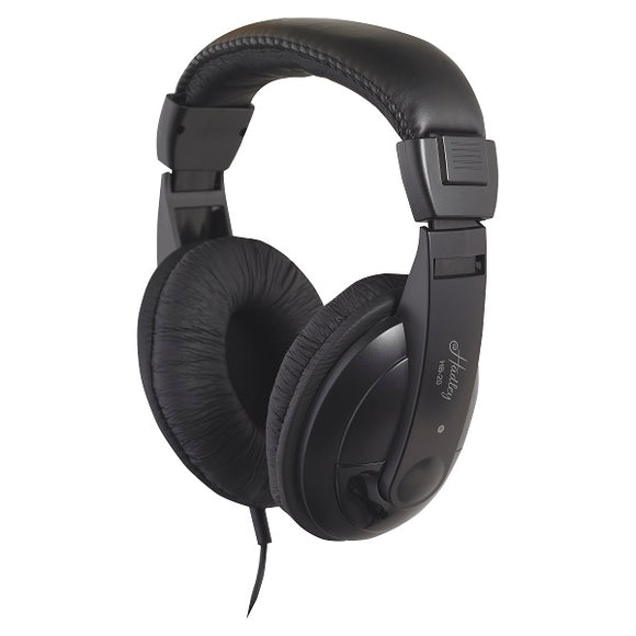 Digital piano and stage piano headphones, larger ear cups than the HB-10. Fit completely over the ear.