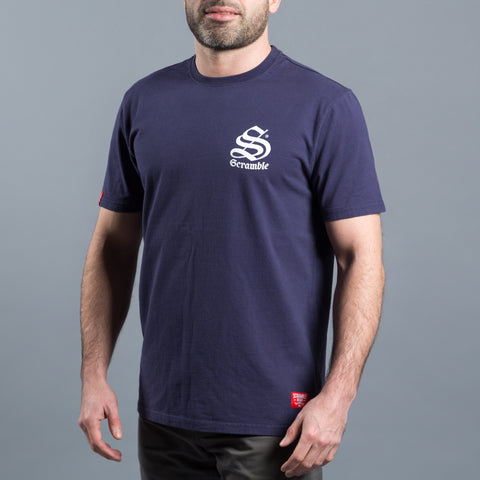 Scramble Inner City T-shirt - Navy