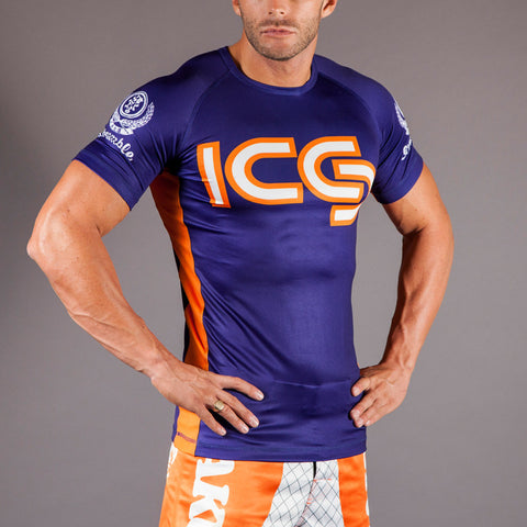 Scramble x Sakuraba Short Sleeved Rashguard