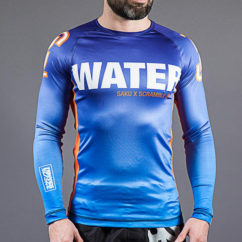 "Scramble x Sakuraba ""WATER"" Rash Guard"