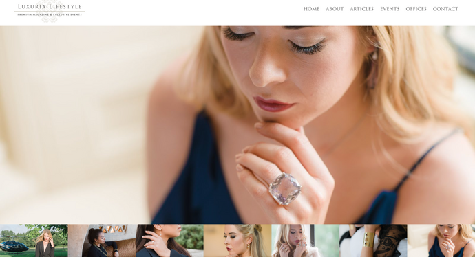 Augustine Jewels on Luxuria Lifestyle International and Luxuria Lifestyle Uk & Ireland