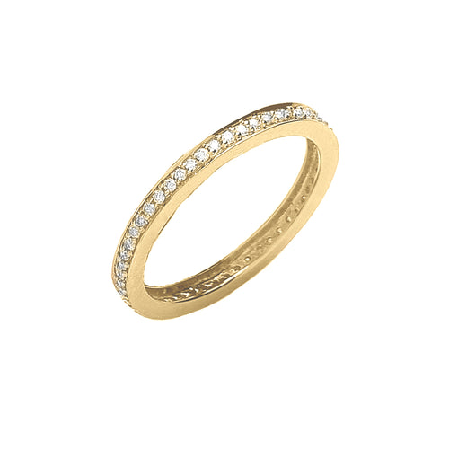 18ct Yellow Gold Full Eternity Ring