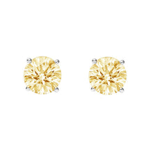 Load image into Gallery viewer, Citrine Stud Earrings