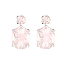 Load image into Gallery viewer, Rose Quartz Drop Earrings