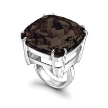 Load image into Gallery viewer, Smoky Quartz Maxi Ring