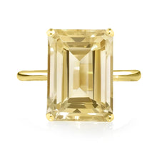 Load image into Gallery viewer, Citrine Ring - Yellow Gold