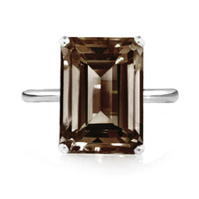 Load image into Gallery viewer, Smoky Quartz Ring