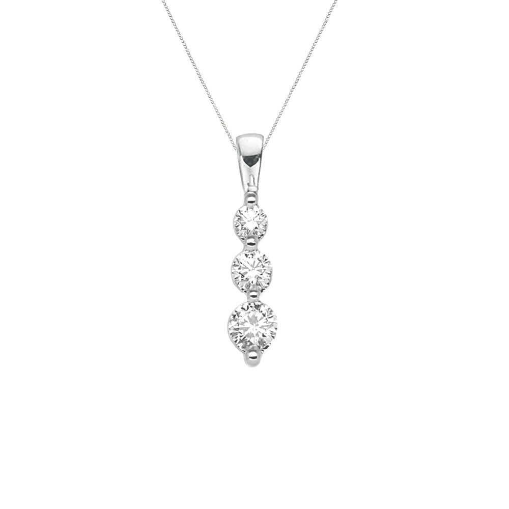 Diamond Trilogy Pendant
