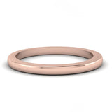 Round Band Rose Gold
