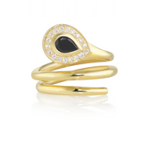 18ct Yellow Gold Sahara Snakes Ring