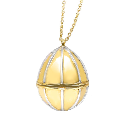 9ct Gold Egg Birthstone Pendant