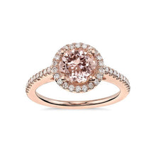 Load image into Gallery viewer, Rose Gold Morganite Ring