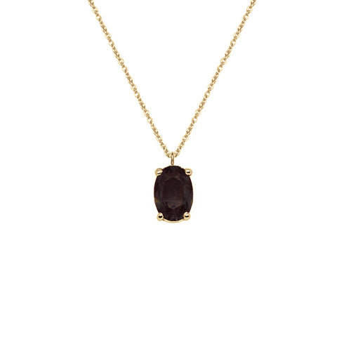 Black Diamond Necklace | The Diamond Collection | Augustine Jewels