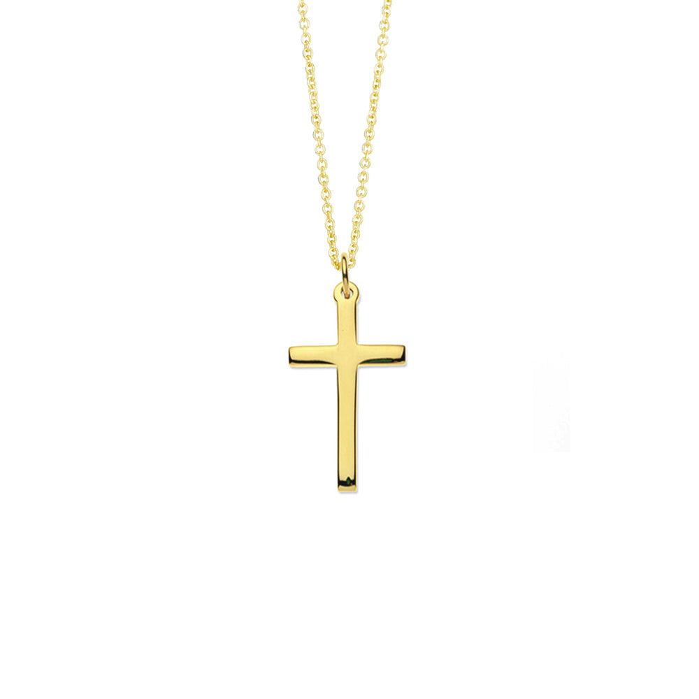 9ct Gold Cross Necklace