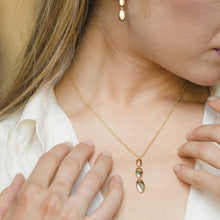 Load image into Gallery viewer, Yellow Gold Drop Necklace