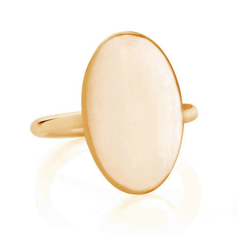 Gold Parisian Ring