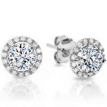 Load image into Gallery viewer, 18ct White Gold Diamond Studs