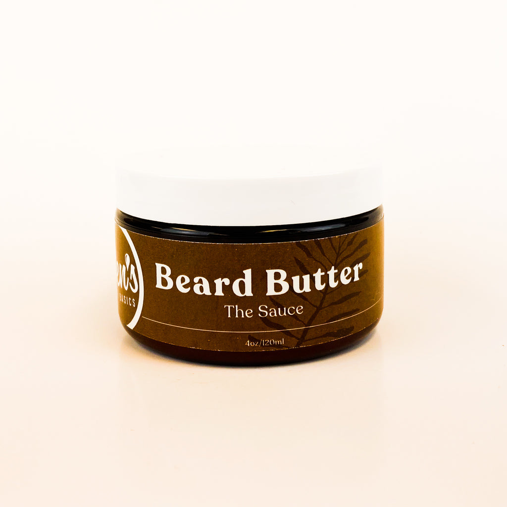 The Sauce - Beard Butter - Ben's Body Basics