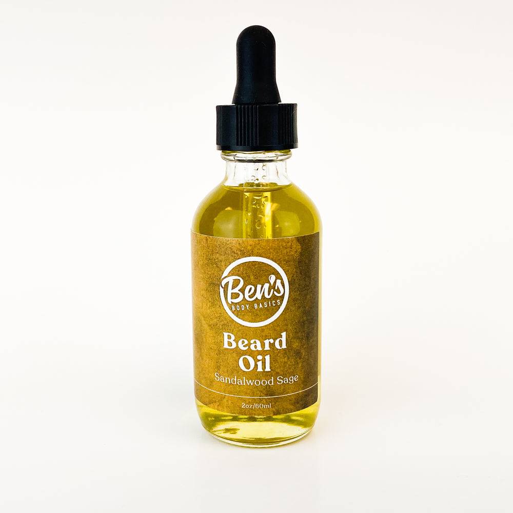 Sandalwood Sage Beard Oil