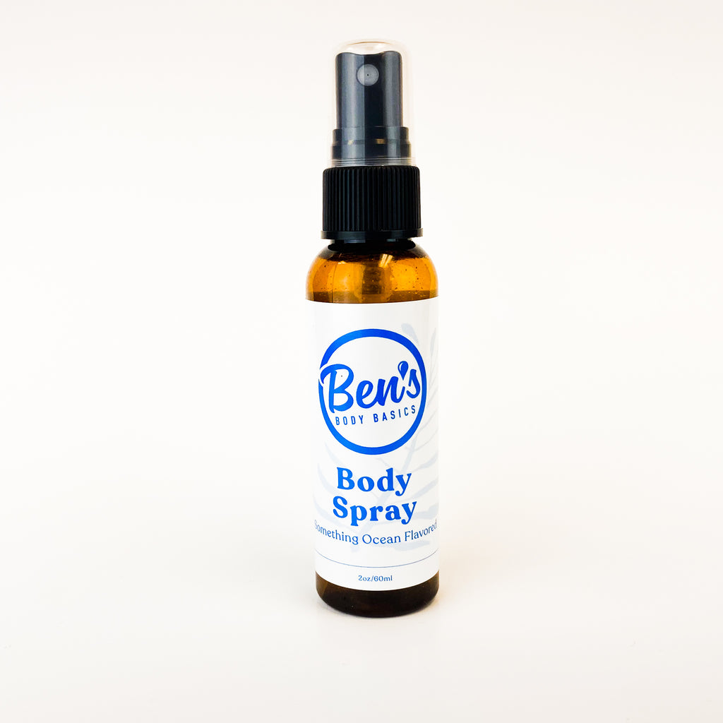 Something Ocean Flavored Body Spray - Ben's Body Basics
