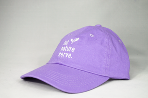 "Let Nature Serve - Lavender ""Dad"" Cap"