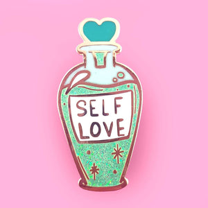 JUBLY-UMPH LAPEL PIN - SELF LOVE