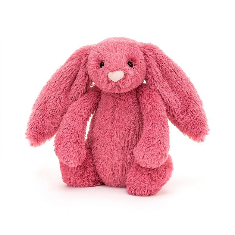 JELLYCAT BASHFUL BUNNY - CERISE SMALL