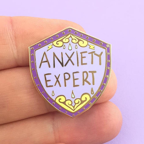 JUBLY-UMPH LAPEL PIN - ANXIETY EXPERT