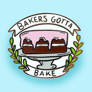 JUBLY-UMPH LAPEL PIN - BAKERS GONNA BAKE